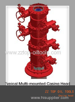 API 6A Oil well casing head