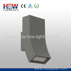 12W Aluminium Garden Lamp IP54 with 2 sides lighting Seoul Korea Chips grey