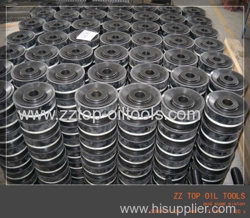 mud pump piston & piston rubber