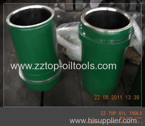 Oilfield drilling mud pump liner