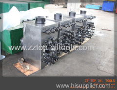Triplex mud pump fluid end