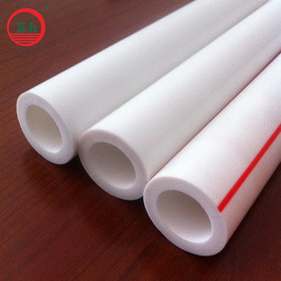 PPR pipe water supply heating supply white color 2013