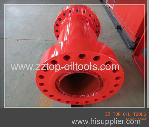 Oilfield riser spool API 6A wellhead