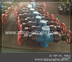 Wireline pressure control cable blow out prevent API