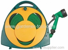 Portable Flat Garden Hose Reel For Wash