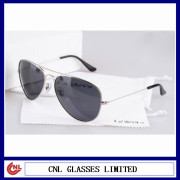 Stock metal brand name sunglasses in china
