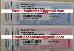 Win7 Professional COA Label Sticker License Key Card X16