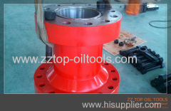 Wellhead double flange adapter API 6A