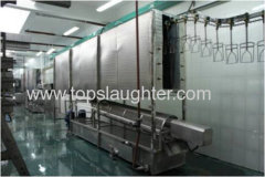 Poultry Processing Equipment Spraying Type Pre-scalding Machine
