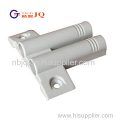 Double plastic soft close buffer for carbinet door