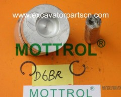 D6BR PISTON FOR EXCAVATOR