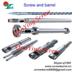 screw barrel of PVC plate