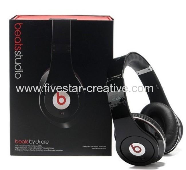 2013 Beats by Dr.Dre-Beats Studio Over-the-Ear Headphones Black(Beats Version)