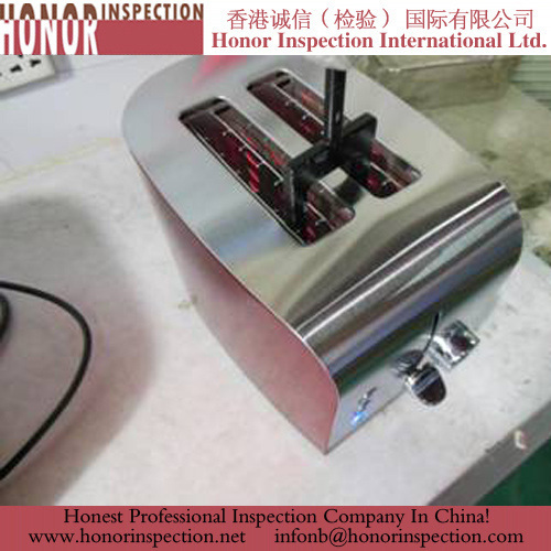 Professional Household appliances quality inspection