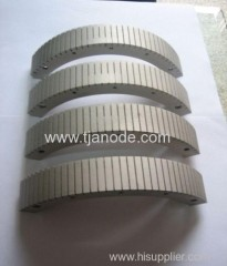Manufacture of the Platinized Titanium Anode