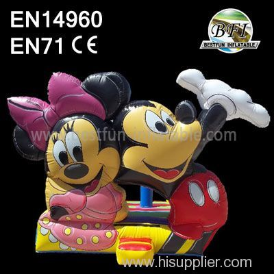 Inflatable Mickey Mouse Jumping Castle