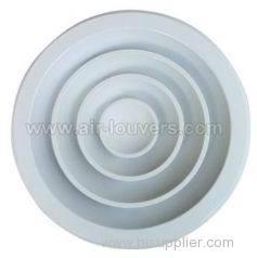 Ceiling Damper White Round