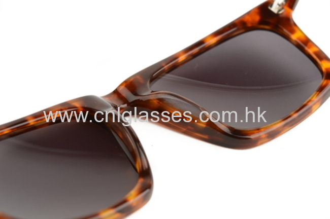 Tortoise Frame Sunglasses, Fashion Acetate Amber Sunglasses