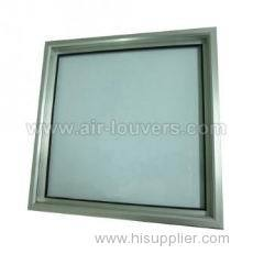 Aluminum Glass Door Grilles