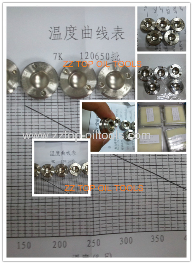 3 7/8Rupture Disk Tubing string testing valve RD TST valve drill stem testing