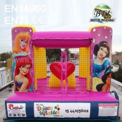 Beautiful Rental Inflatable Snow White Bounce House