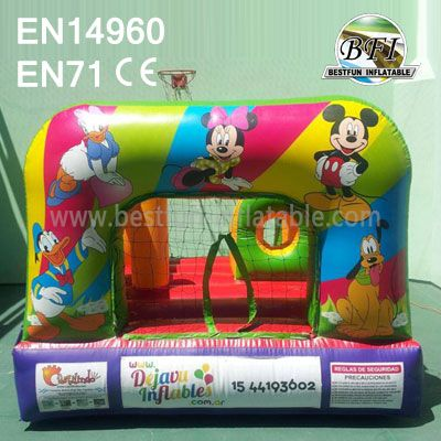 Mini Inflatable Mickey Bouncer For Toddler