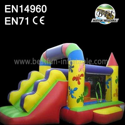 Inflatable Castles with Slide For Sale