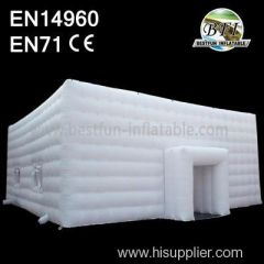 White Inflatable Tent Building Made in China