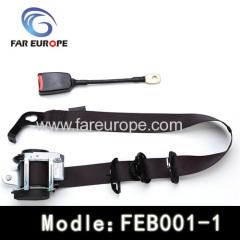 car pretensioning safety belt