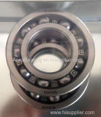 Deep Groove Ball Bearing 6306 Motor Bearing 6306 High precision Long service life Low noise High speed