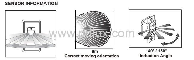 Infrared motion sensor PD-PIR133B