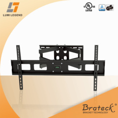 GS UL approved 120° swivel arm universal TV wall mounts
