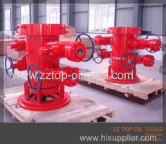 API Oil well tubing head
