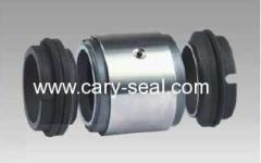 Double face mechanical seals with Multi-Springs equivalent of Burgmann type M74D