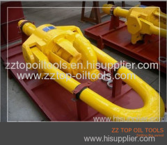 Oil well drilling rig swivel