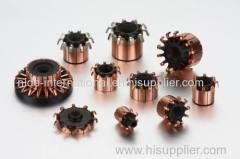 commutator for automotive ABS system