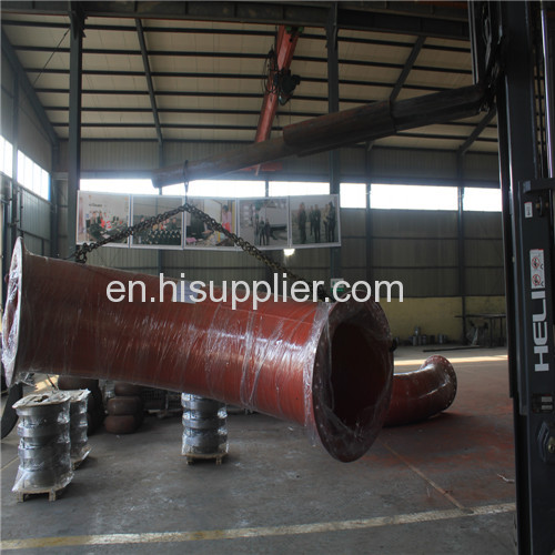 10 STD 3-5D WP9bend welding neck flange