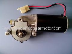 low current power window regulator motor