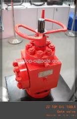 API 6A wellhead gate valve