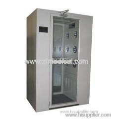 Portable clean room air shower