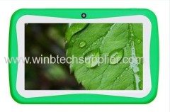 kid tablet pc 7inch dual camera with educational apps for children
