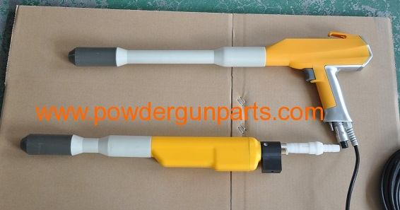 powder coating gun parts