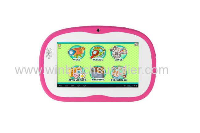 childred pad kid tablet pc 7inch dual core tablet pc