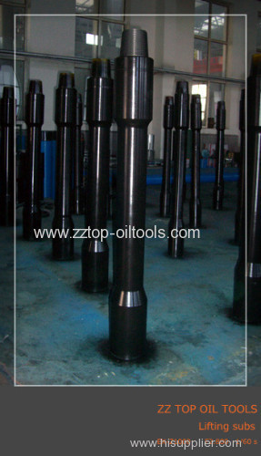 5Lifting sub for oilfield drilling