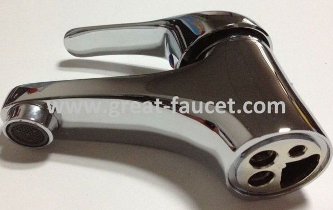 Single Handle Lavatory Mixers With Good Chrome Plate