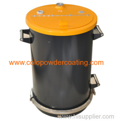 steel powder hopper design