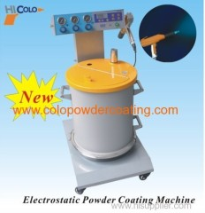 Electrostatic powder paint machine