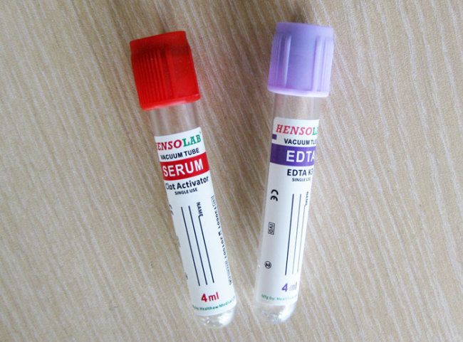 CE approval Vacuum Blood Collection Tube