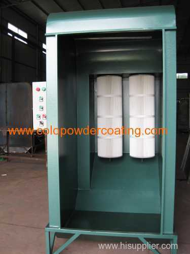 powder recycling spray booth