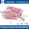 High purity alumina textile ceramic rods